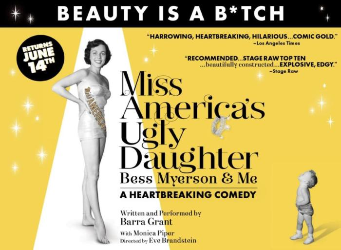 Miss America's Ugly Daughter…Bess Myerson and Me